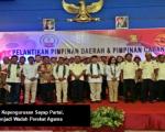 Kukuhkan 4 Kepengurusan Sayap Partai, Gerindra Menjadi Wadah Perekat Agama
